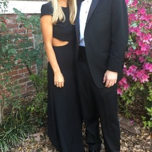 Lulus black formal dress size small